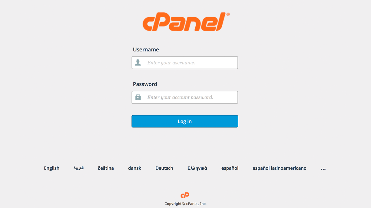 create cPanel email accounts in your website