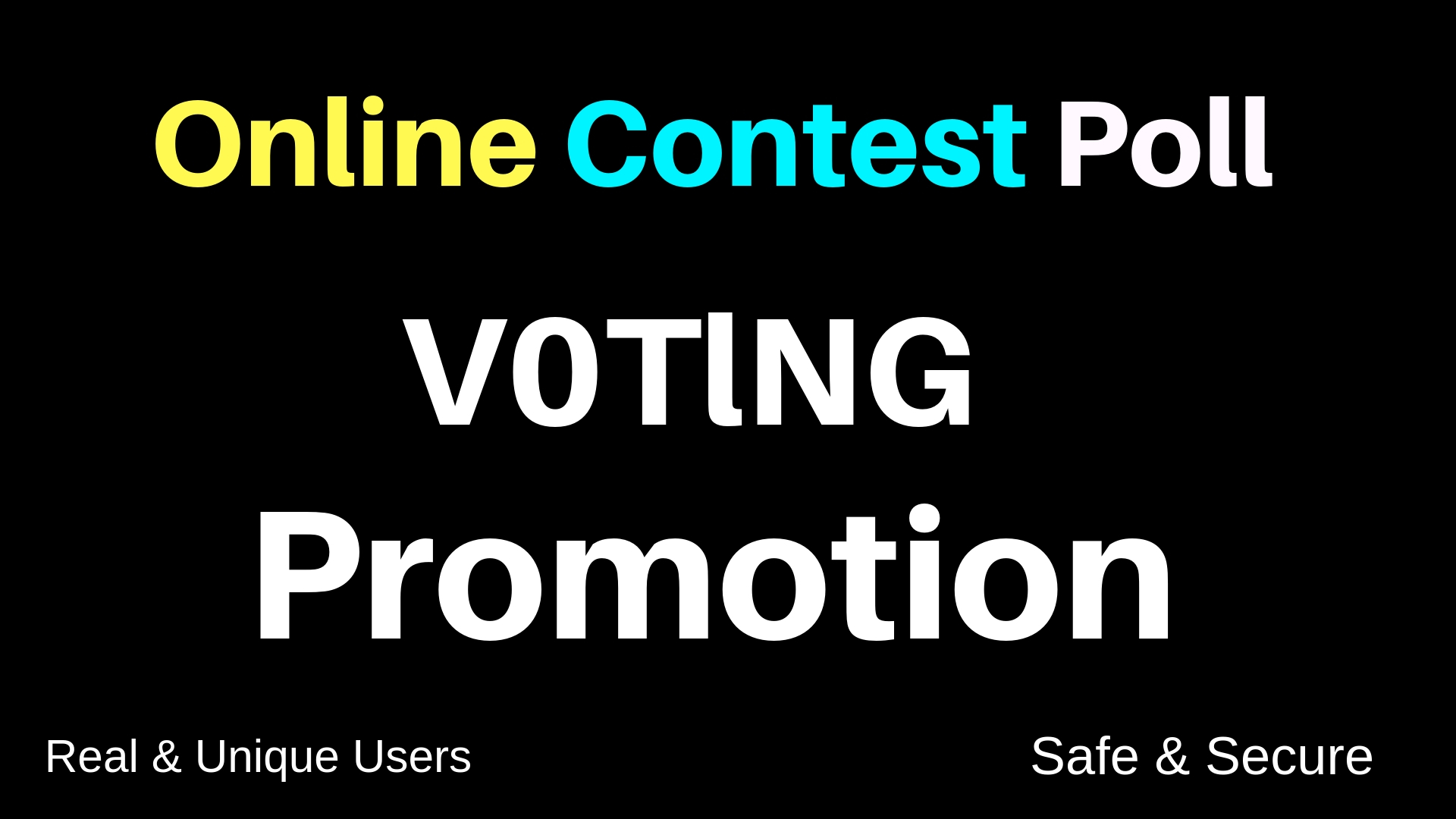 Get 500+ Different Unique IP Votes For Your online Voting Contest