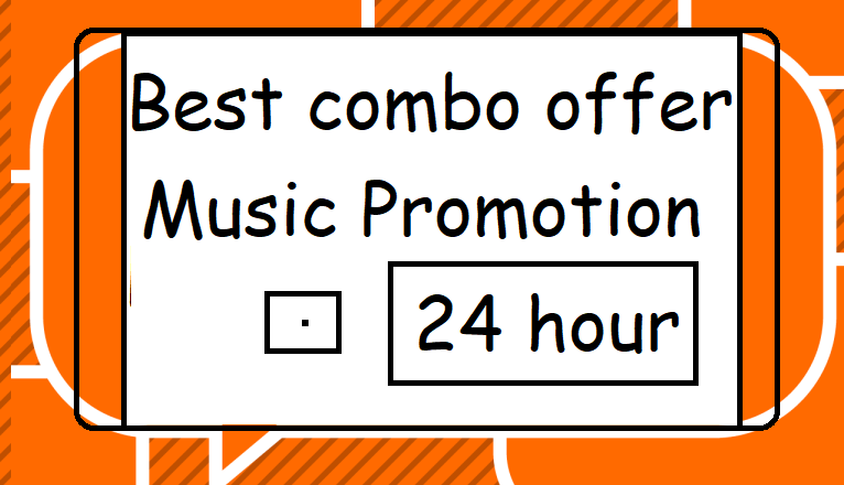 Instant best combo music offer to your music track or album