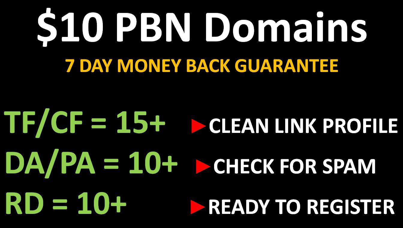 Dominant PBN Domains - Rule Top Ranks!
