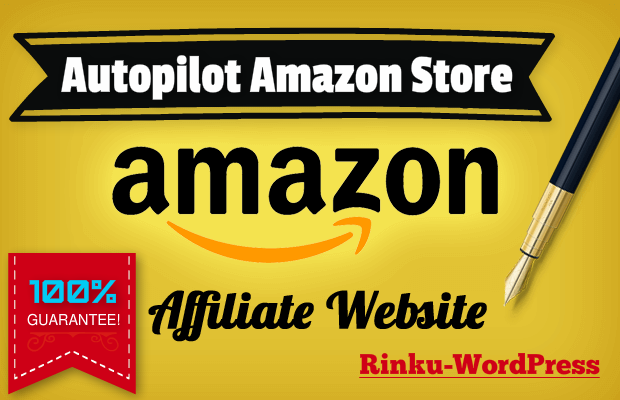 create Amazon affiliate website autopilot Amazon money making site