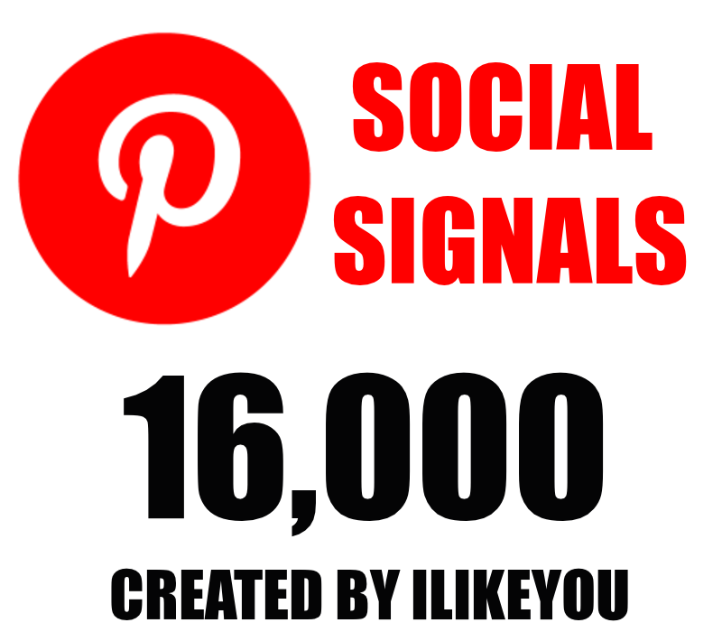 16,000 Pinterest PR10 Social Signals Share for SEO Google Ranking Help To Increase Website Traffic