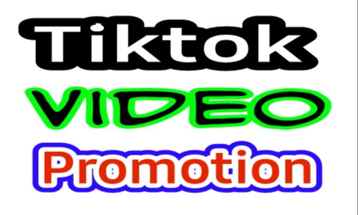 I will do Tiktok video promotion professionally