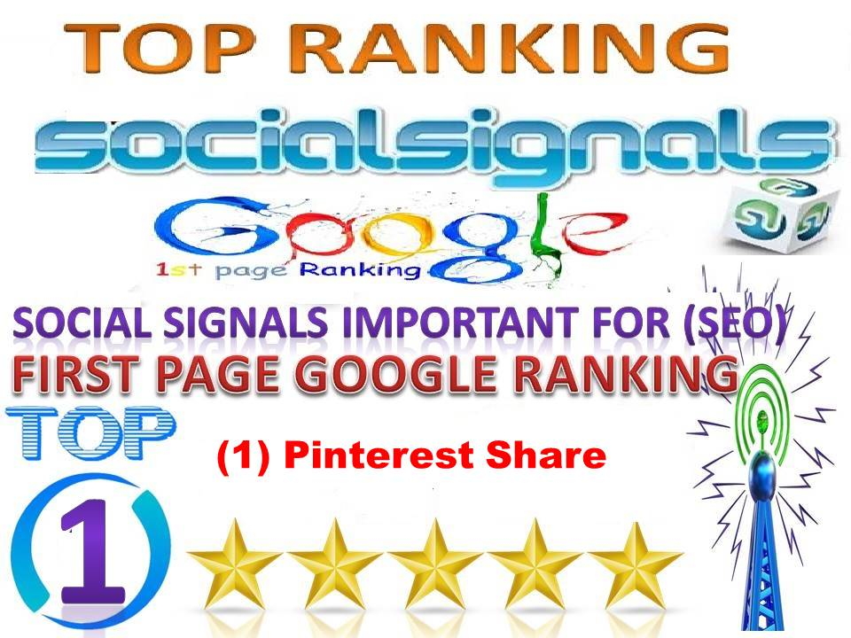TOP 1 Platform Best Sites 30,000 Pinterest Social Signals From USA Help For Google First Page Rankin