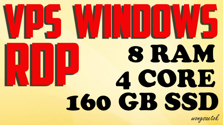Windows VPS 4 Core CPUs 4 GB RAM 160 GB SSD - The Cheapest in Monster Backlinks