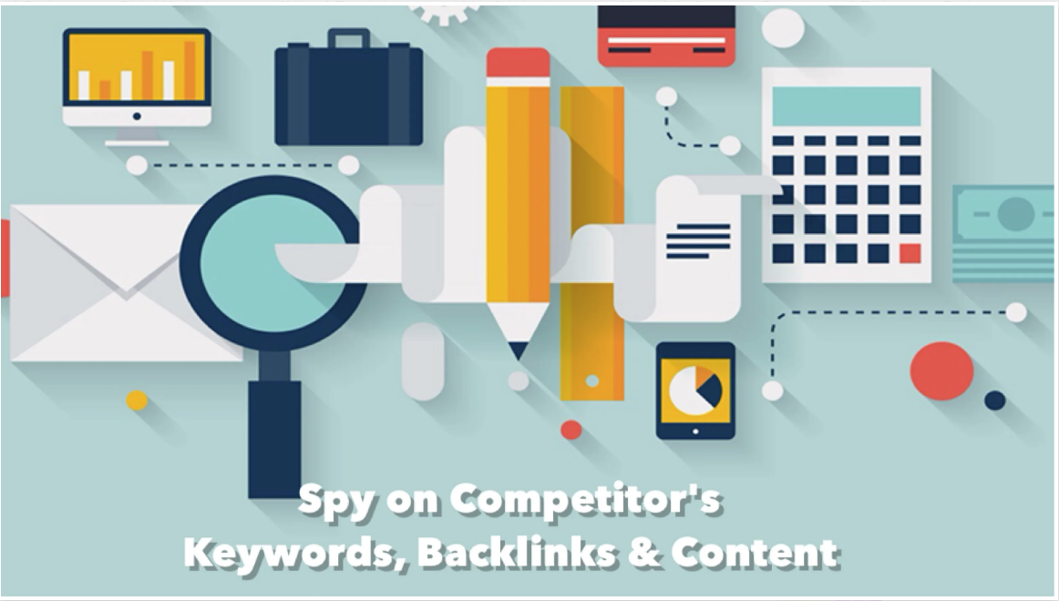 SEO Competitor Analysis, Keyword Research, Backlinks
