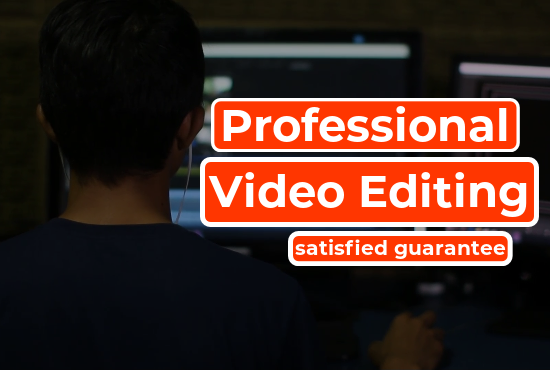 I will professional video editing with Camtasia