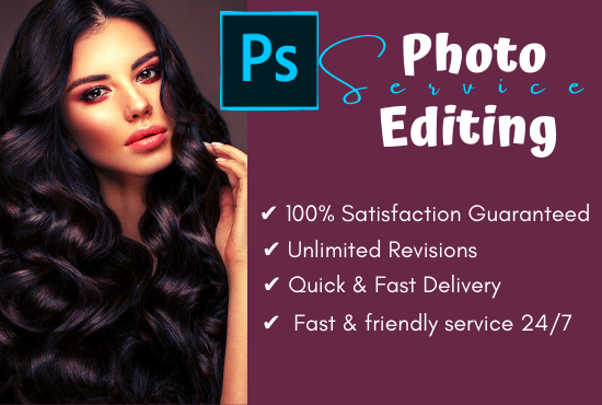 I will do Photoshop editing and image retouching professionally