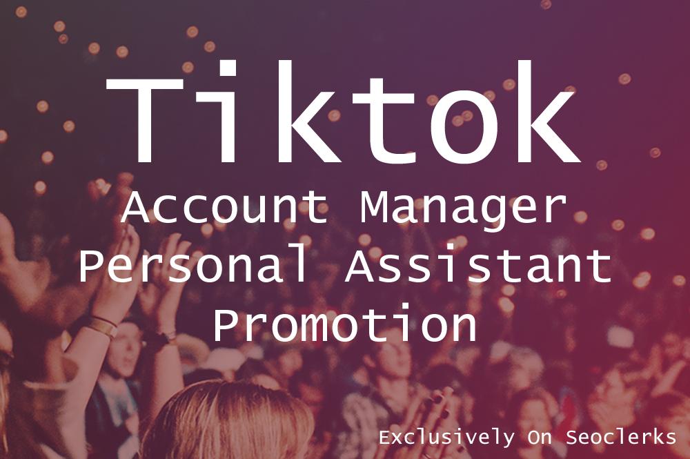 Organic TikTok Video And Account Promotion via social media views Marketing