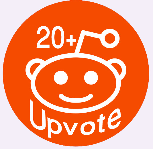 Provide You 20+ Real People Reddit Global Upvotes