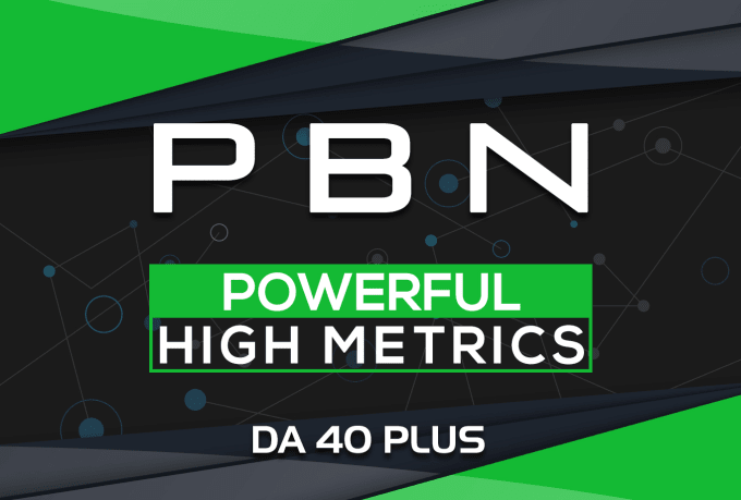 build 8 manual da 40 plus homepage pbn backlinks