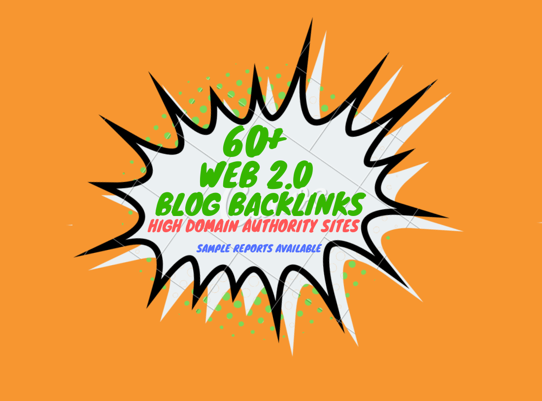 60+ Web 2.0 Blog Backlinks for Google Ranking