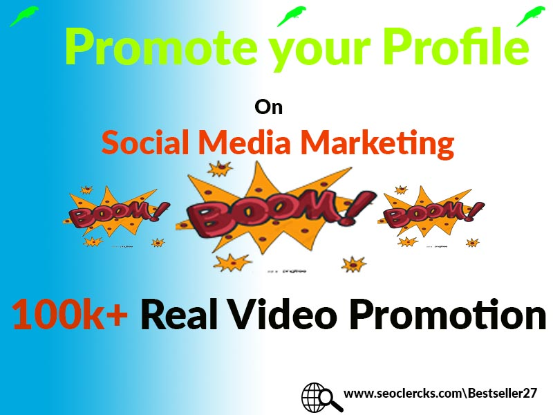 Profile Video Promotion Split-able Social Media Marketing