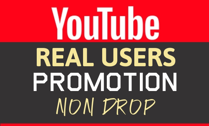 Real YouTube Promotion and Marketing in Natural Pattern
