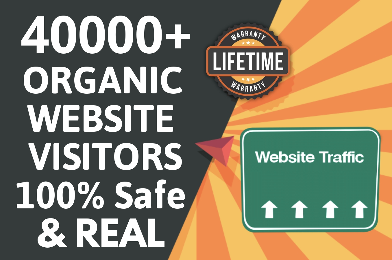 Real and Oragnic Webiste Visitors from Targeted countries With Targeted Keywords