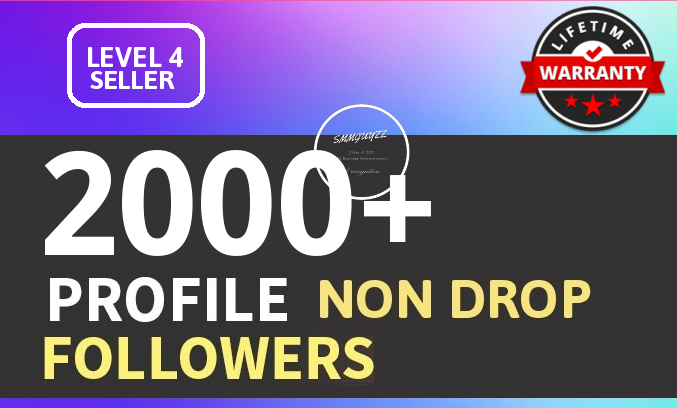 Add 2000+ High Quality Fast Profile Followers