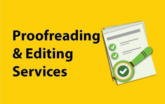 Proofread and Edit Your Articles and Website Content
