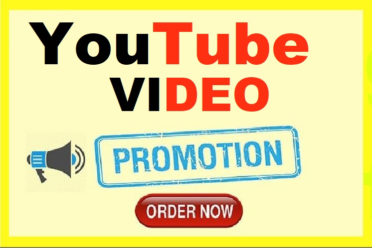 YouTube High Quality Video Promotion Real Active Worldwide Audience
