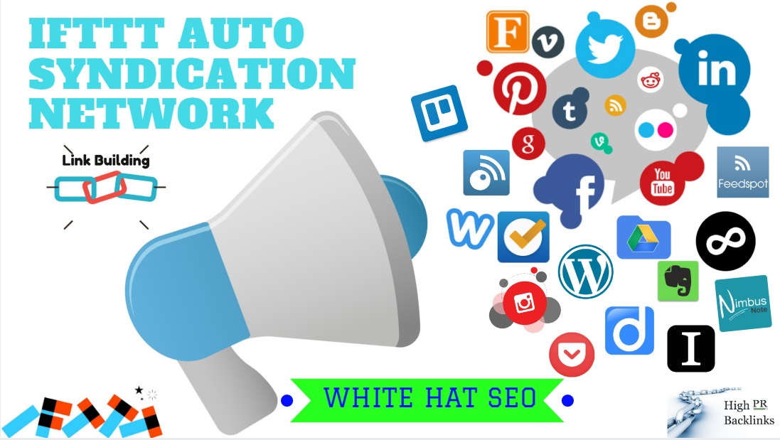 Create IFTTT Auto Posting Syndication Network For Boosting Rankings For Any RSS Or Social Media
