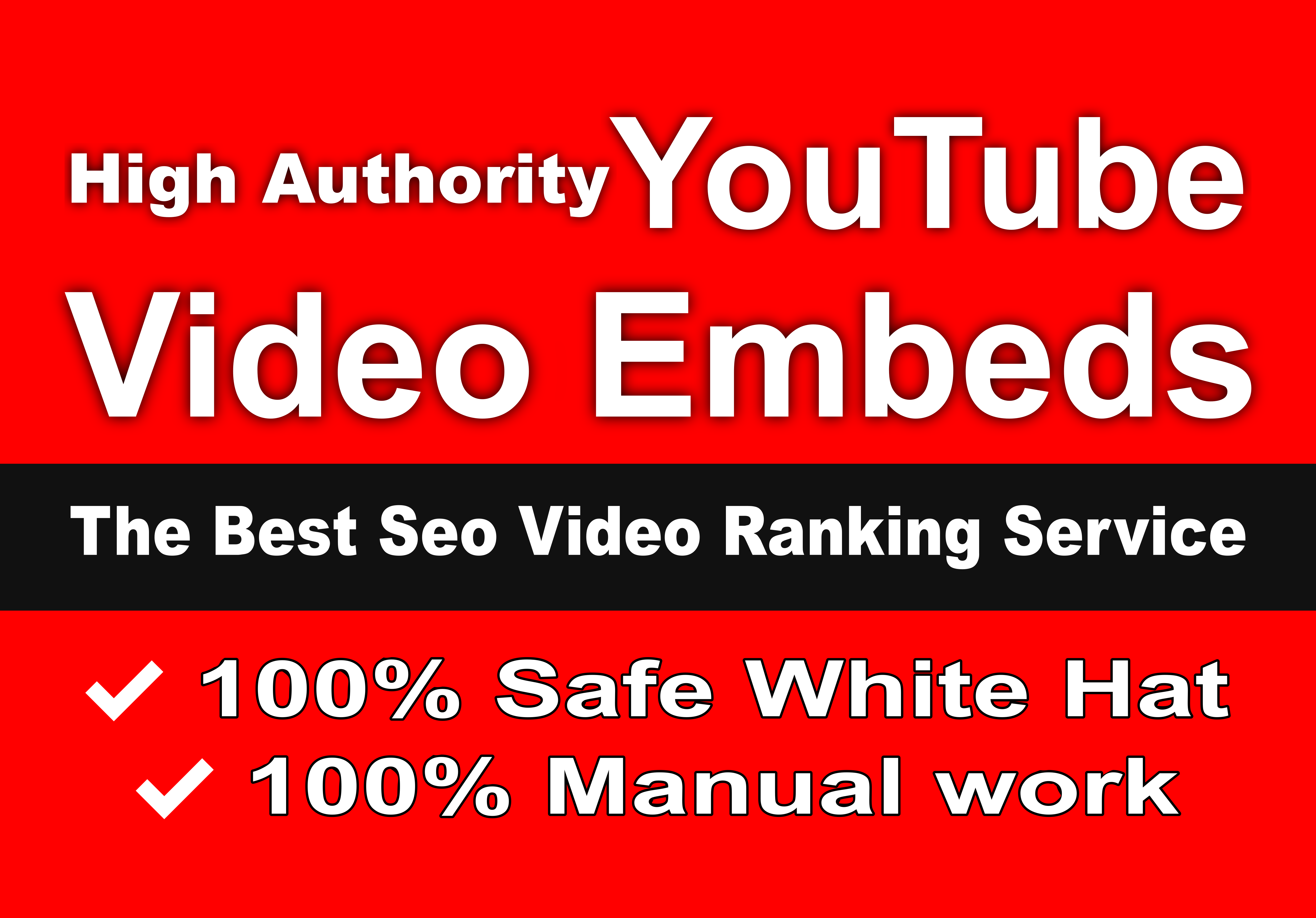 Embed Youtube video into 10+ high PR web 2 sites