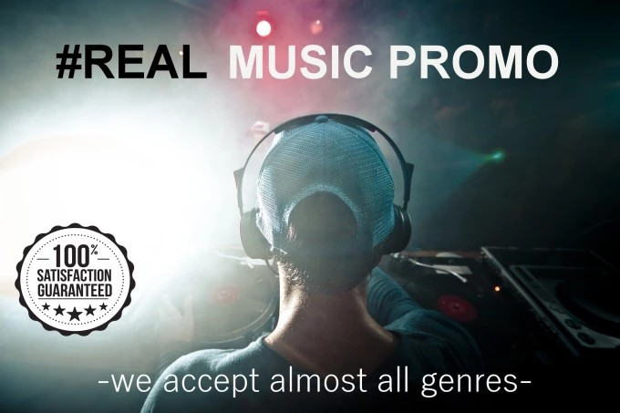 Provide real and organic exposure on your music track...