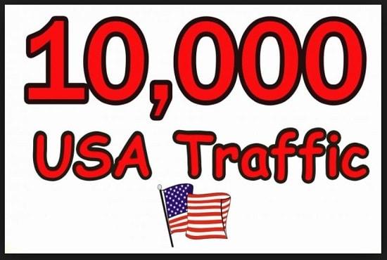 10000 USA High Quality Targeted Web Traffic