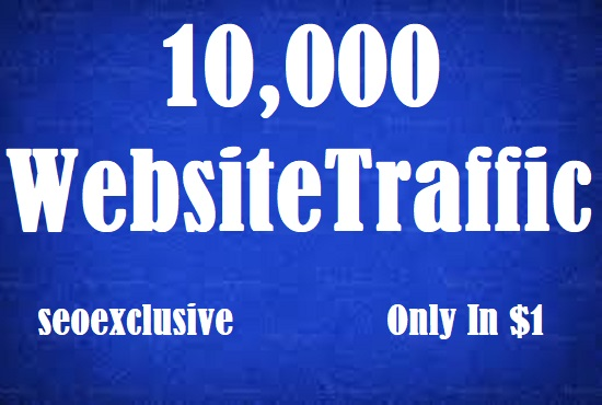 10000 Worldwide Website Traffic