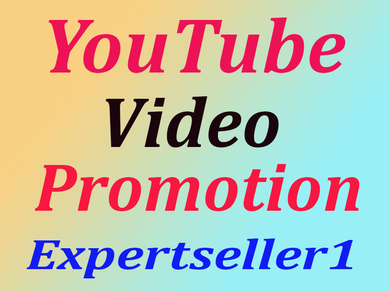 YouTube Video Promotion Social Media Marketing Rank