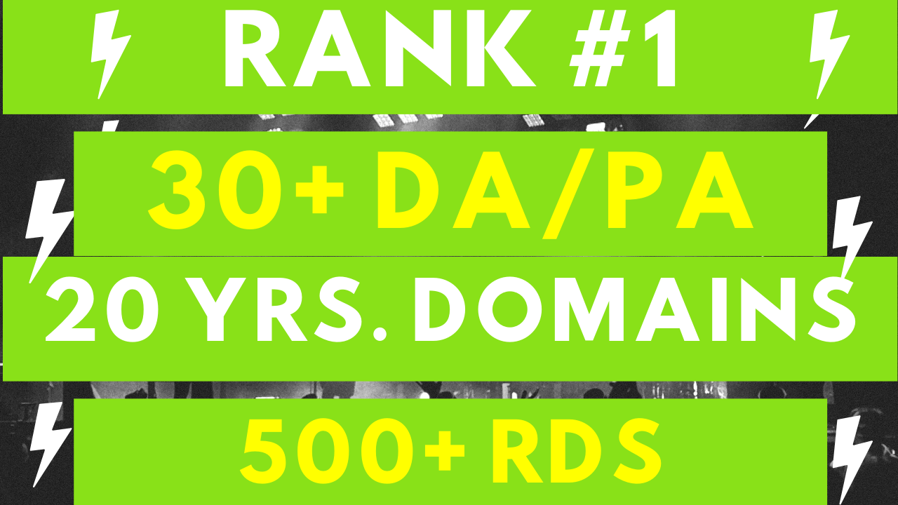 30 Authority PBN Backlinks for Quick Top Rankings
