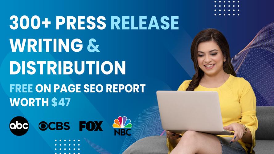 300+ PR on FOX,  CBS,  NBC FREE ON PAGE SEO REPORT