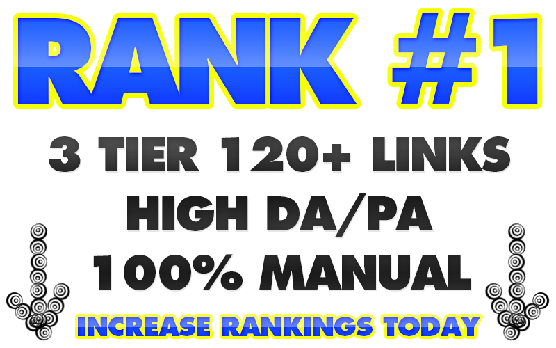 Boost Rank With Our High DA/PA 3 Tier Link Building System