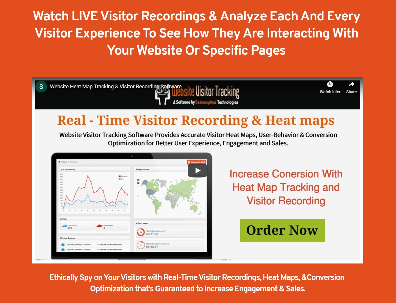 Setup Website Heatmap Tracking & Visitor Recording Software in Your Website