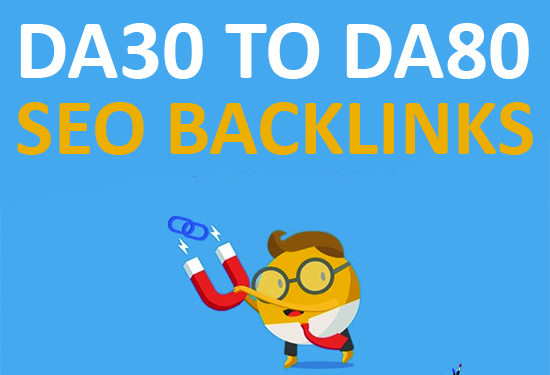 create 10 high authority seo backlinks from DA 80