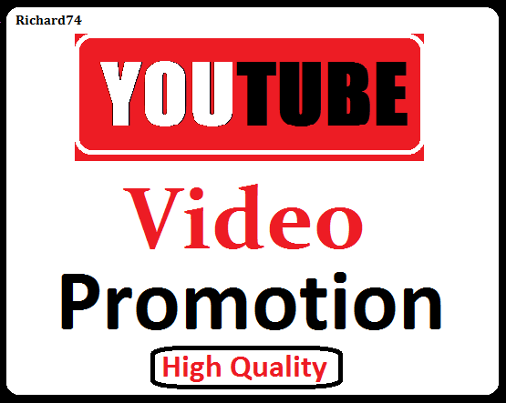 YouTube Video Organic Promotion High Quality And Fast Delivery
