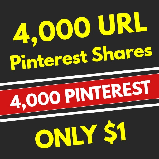 4,000 PR10 Pinterest Web Pin Social Signals - SEO RANKING FACTOR