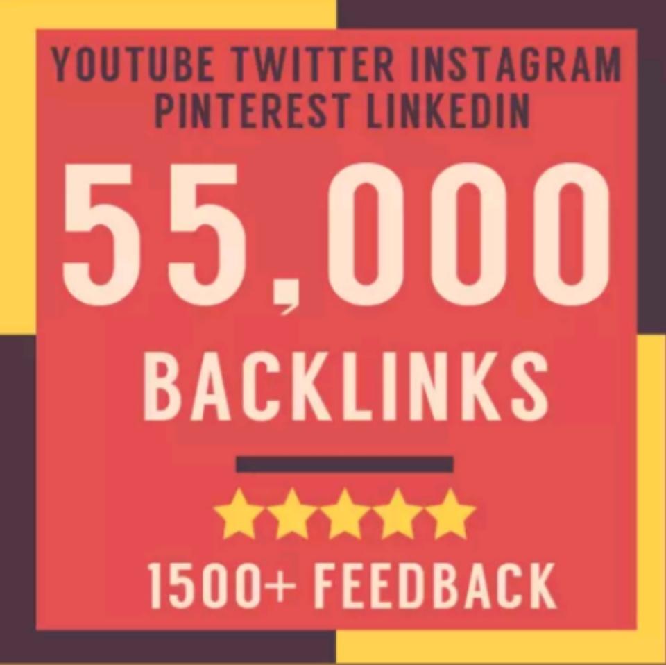 55000 backlinks improve your google rankings
