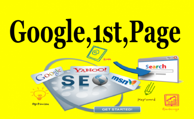 I will land your keyword 1st page on Google Guaranteed