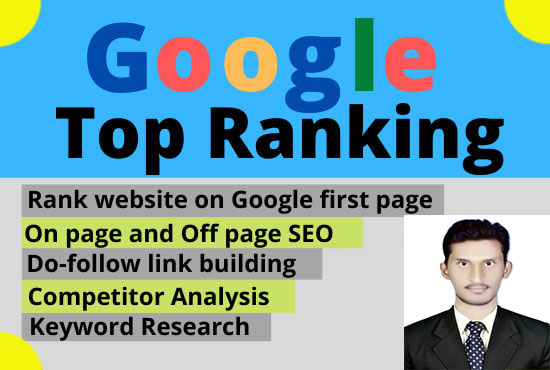 Rank your website on Google 1st page guaranteed monthly SEO plan