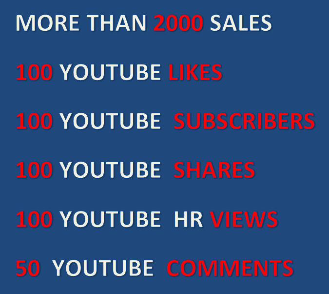 Best Youtube video combo promotion