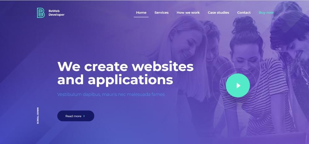 i will make a website Of your choice for