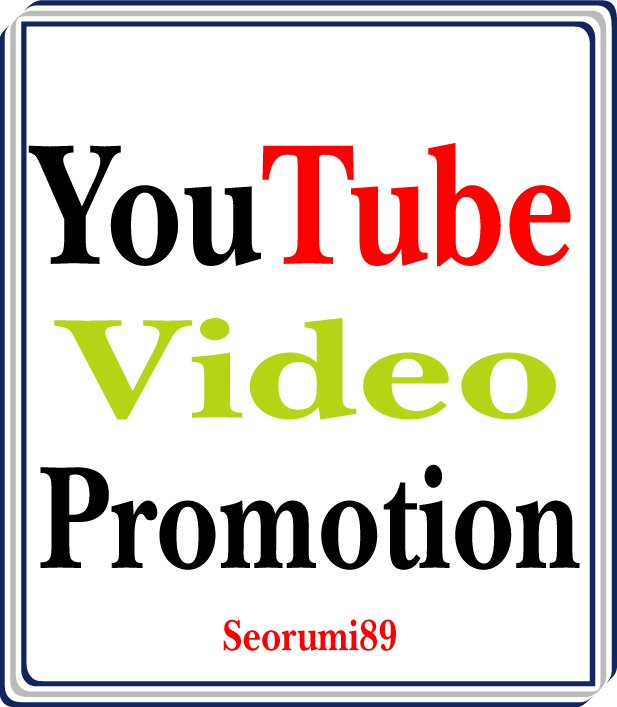 Safe Oganic YouTube Video Promotion and Marketing