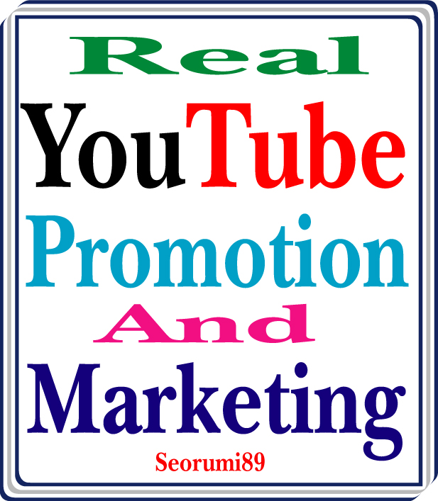 Get YouTube Video Promotion And Markating