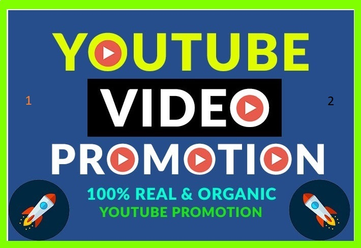 Natural YouTube Video Promotion High Quality Audience and Super Fast Complete