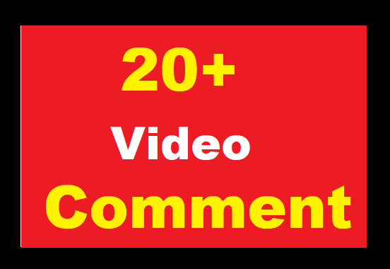 Video Comments Promotion Real Profile High Quality