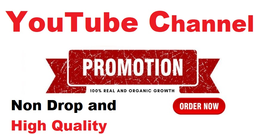 YouTube Manually Account Promotion High Quality and Worldwide Real User