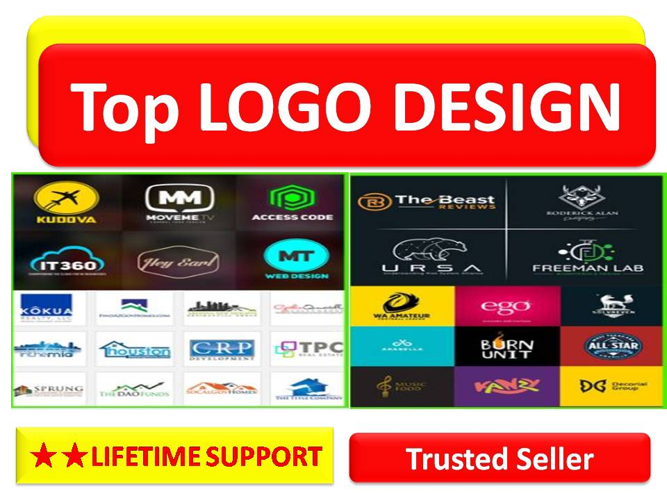 I will do logo design a unique and vector professional logo to suit your niche.