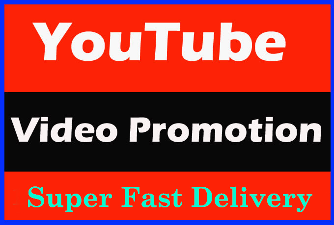 High Retention Youtube Video Promotion and Marketing with super fast Delivery