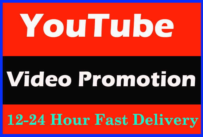 Awesome YouTube video Promotion And super fast delivery