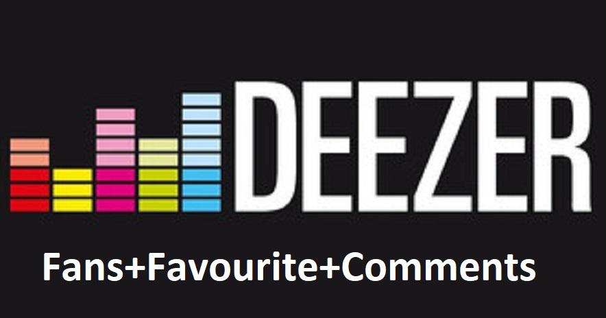 200+Deezer followers/Fans & 125+ Deezer favorites