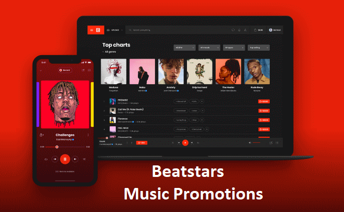 1.2k real Beatstars streams 150 likes and re-ups very cheap rate